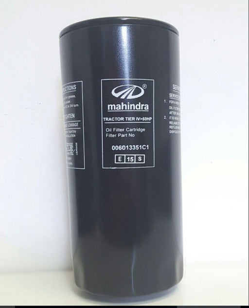 Mahindra OEM 006013351C1 Engine Oil Filter 3351