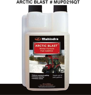 Mahindra OEM Arctic Blast Winter Fuel Additive (16 oz) MUPD216QT