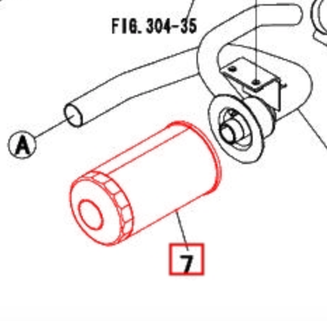 Mahindra OEM 19642509000 Hydraulic Filter (Spin-On)