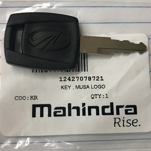 Mahindra OEM 12427078721 IGNITION and DOOR Key