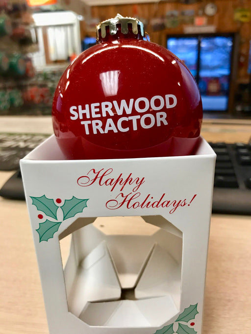 Mahindra / Sherwood Tractor Christmas Ornament (2018)