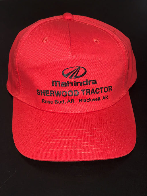 Sherwood Tractor Mahindra Hat - Red/Red
