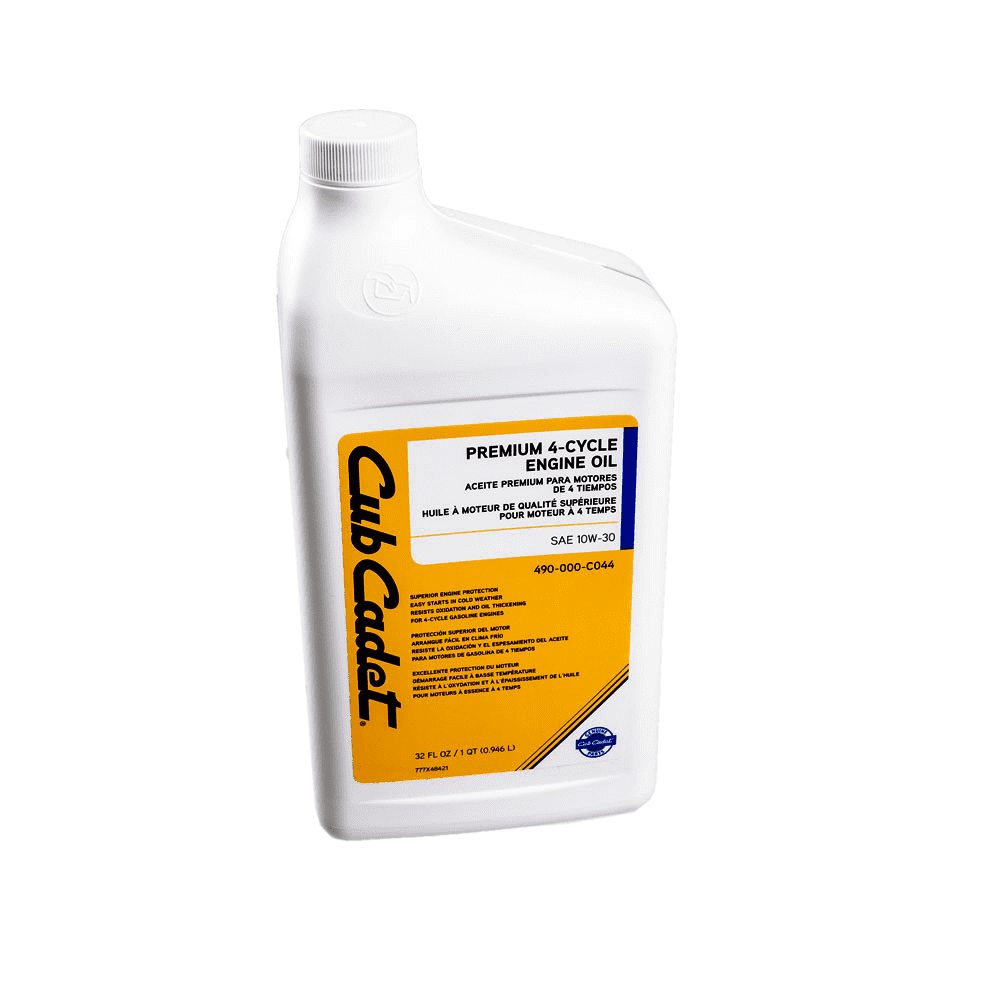 Cub Cadet OEM 490-000-C044 10W-30 Premium Engine Oil (32 oz)