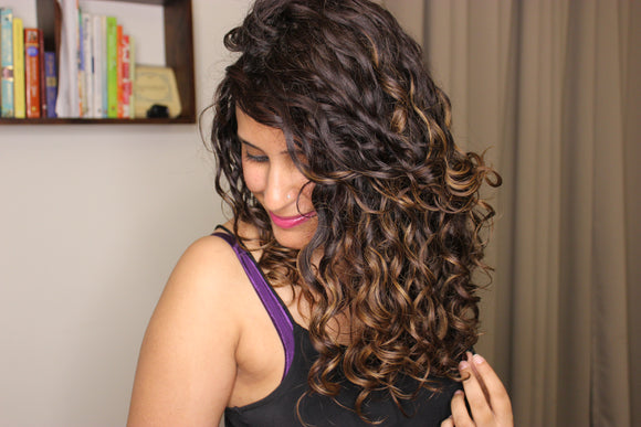 Natural Ways to Get Healthy Shiny Curly Hair