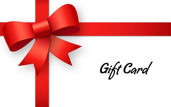 Gift Card - For Those Special Occassions - Multiple Price Options
