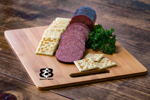 Cheesy Summer Sausage (1lb.) - B&B Quality Meats