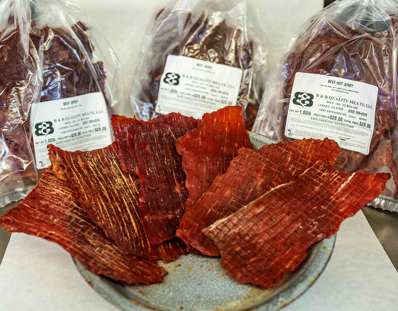 Beef Hot Jerky - B&B Quality Meats