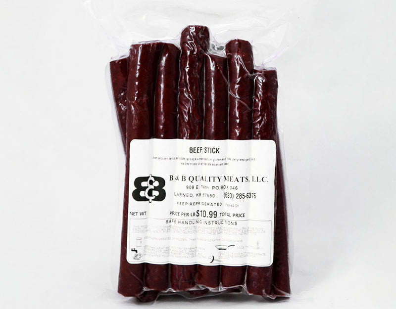 Beef Sticks (1lb.) - B&B Quality Meats