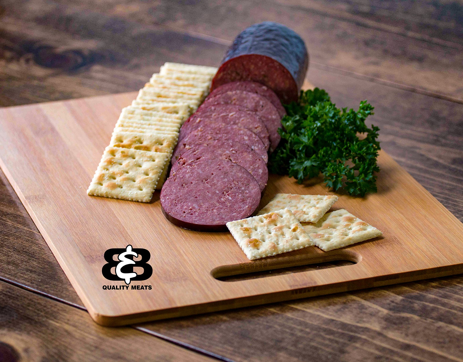 Mild Summer Sausage (1lb.) - B&B Quality Meats