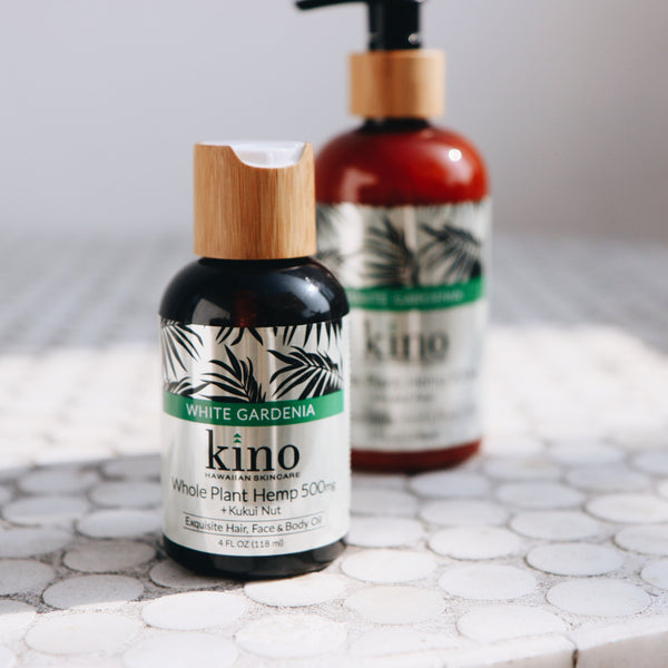 500mg CBD Kukui Oil (White Gardenia) – Face, Hair & Body