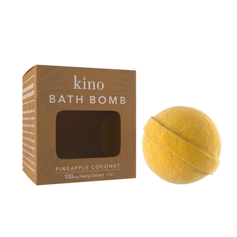 100mg CBD Bath Bomb (Pineapple Coconut)