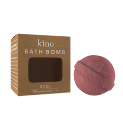 100mg CBD Bath Bomb (Rose)