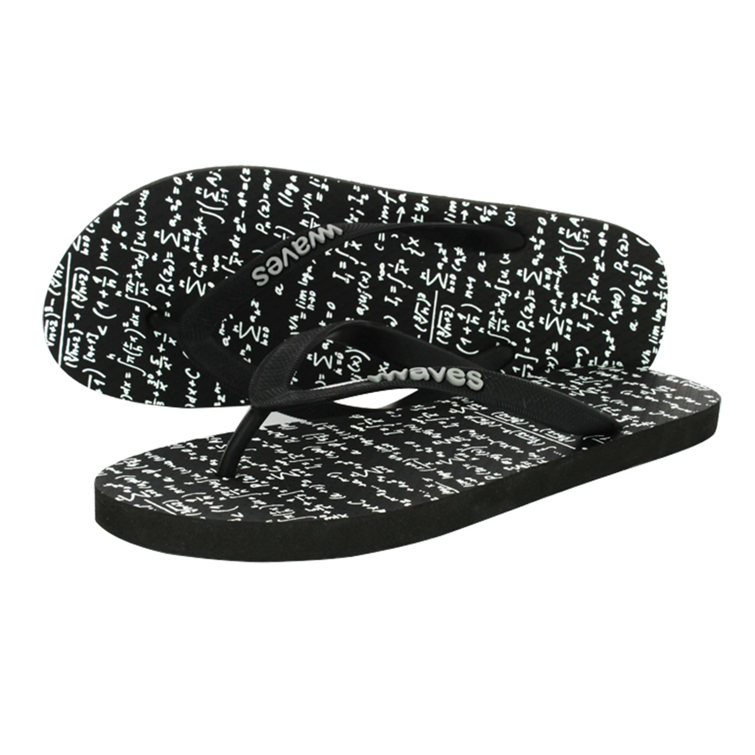 Math Equation Men's Flip Flops
