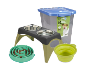 Dog Feeders & Bowls