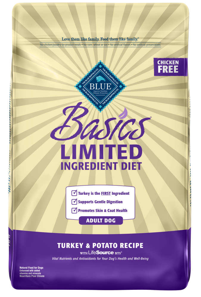 Blue Buffalo Basics Adult Turkey & Potato Recipe Dry Dog Food
