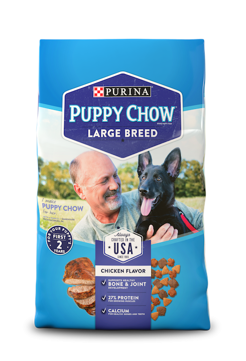 Purina Puppy Chow Large Breed Formula Dry Dog Food