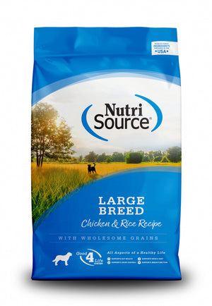 NutriSource Adult Large Breed Chicken & Rice Dry Dog Food