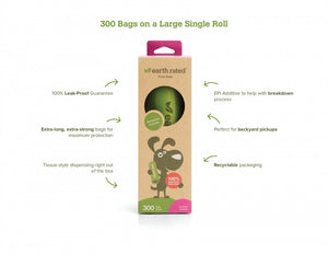 Earth Rated Unscented Waste Bags
