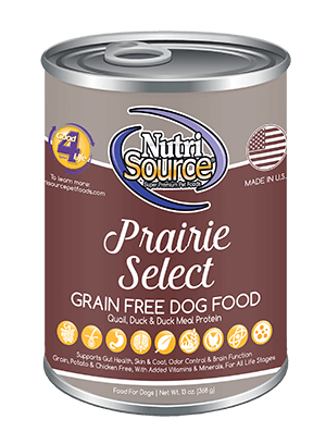 NutriSource Grain Free Prairie Select Canned Dog Food