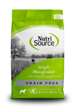 NutriSource Grain Free Weight Management Dry Dog Food