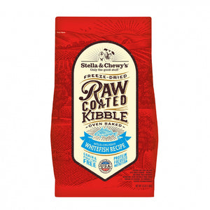 Stella & Chewy's Raw Coated Kibble Wild Caught Whitefish Recipe Dry Dog Food