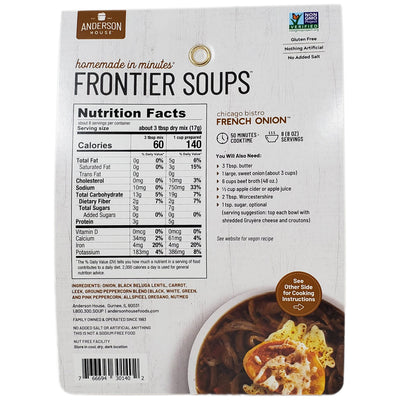 Frontier Chicago Bistro French Onion Soup Mix - 4.75oz. - Healthy Heart Market