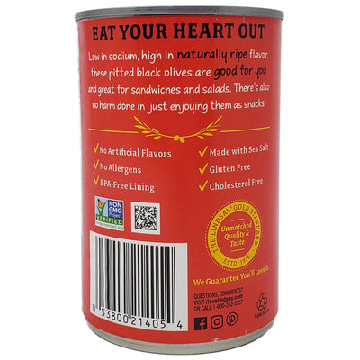 Lindsay Low Sodium Medium Pitted Olives-6 oz. - Healthy Heart Market