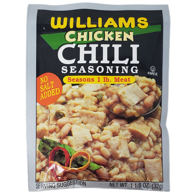 Williams Chicken Chili Seasoning-1.125 oz. - Healthy Heart Market