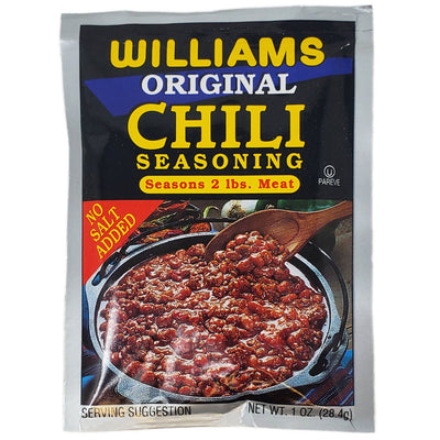 Williams Original Chili Seasoning-1 oz. - Healthy Heart Market