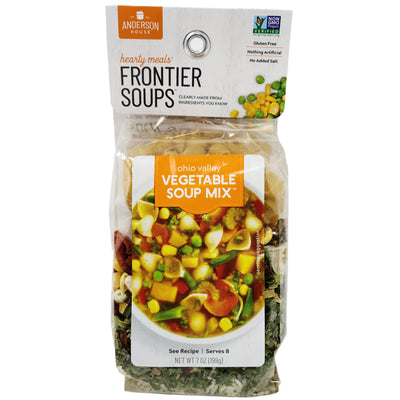 Frontier Soups Ohio Valley Vegetable Soup-7 oz.
