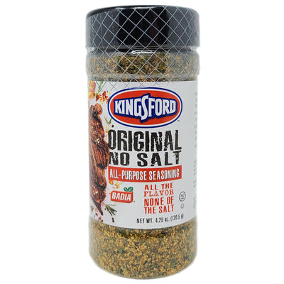 Kingsford Original No Salt All Purpose Seasoning - 4.25 oz - Healthy Heart Market