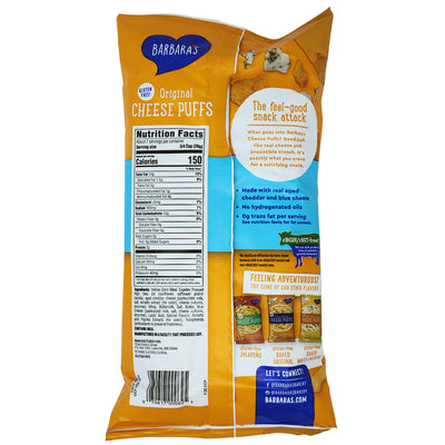 Barbara's Bakery Original Cheese Puffs-7 oz. - Healthy Heart Market