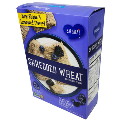 Barbara's Shredded Wheat Big Biscuit Cereal - 15oz. - Healthy Heart Market