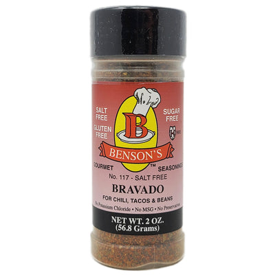 Benson's Salt Free Bravado Seasoning - 2oz.