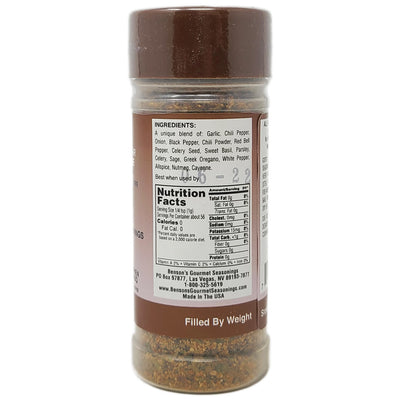 Benson's Salt Free Gusto Seasoning - 2oz