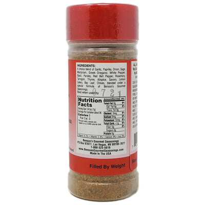 Benson's Salt Free Supreme Garlic & Herb Seasoning - 2oz.