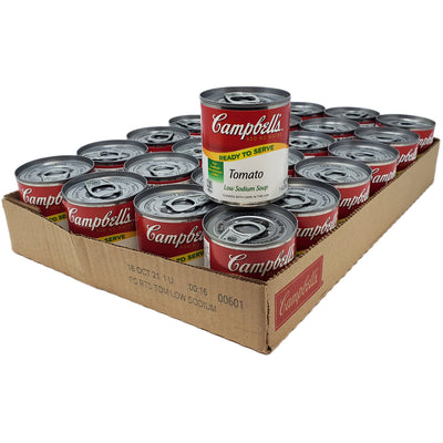 Case of 24 Campbell's Low Sodium Tomato Soup - 7.25oz. - Healthy Heart Market