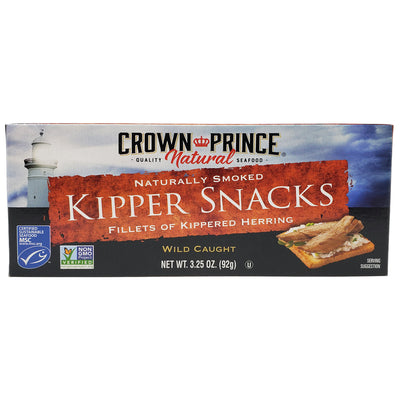 Crown Prince Kipper Snacks-3.25 oz. - Healthy Heart Market