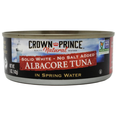 Crown Prince Albacore Tuna No Salt Added- 5oz.