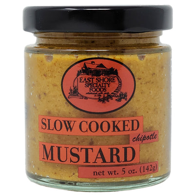East Shore Chipotle Mustard-5 oz . - Healthy Heart Market