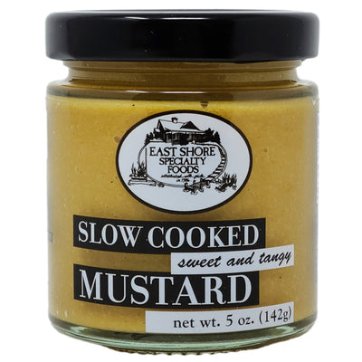 East Shore Sweet and Tangy Mustard-5 oz. - Healthy Heart Market