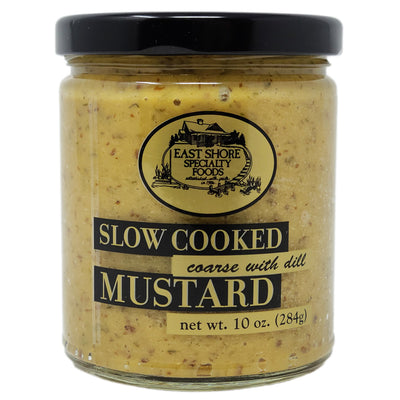 East Shore Coarse with Dill Mustard-10 oz. - Healthy Heart Market