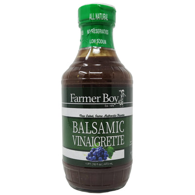 Farmer Boy Balsamic Vinaigrette - 16oz.