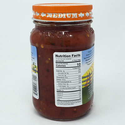 Frog Ranch Medium Salsa-16 oz. - Healthy Heart Market