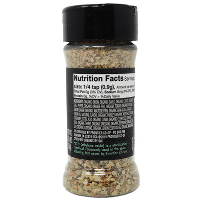 Frontier Salt Free All Purpose Seasoning -2.5 oz