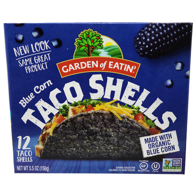 Garden Of Eatin Blue Corn Taco Shells - 5.5oz