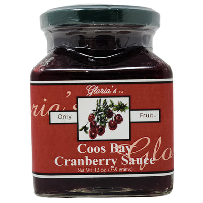 Coos Bay Cranberry Sauce-12 oz.