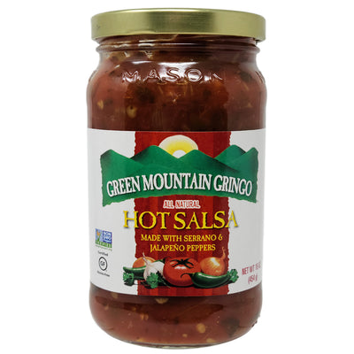 Green Mountain Gringo HOT Salsa-16 oz.