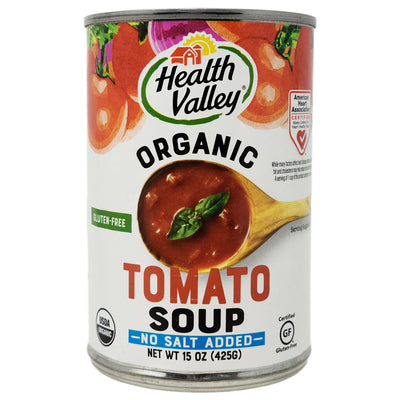 Health Valley Tomato No Salt Added Soup-15 oz.