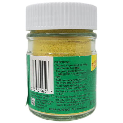 Herb Ox Chicken Granulated Bouillon in a jar- Sodium Free-3.3 oz.